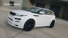 Range Rover Evoque Pan Roof Hamann Style Body Kit with Light Grey Interior