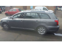 TOYOTA AVENSIS 2005 DIESEL 2.0 ENGINE FOR BREAKING...ALL PARTS AVAILABLE
