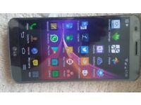 LG G Flex D955 - 32GB - Titan Silver (Unlocked) Smartphone Crack on screen