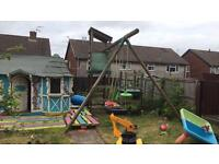 Little tikes swing and slide climbing frame