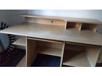 Large Desk room for printer etc