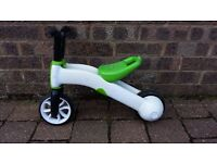 Chillafish 'Bunzi' 2-in-1 trike/balance bike