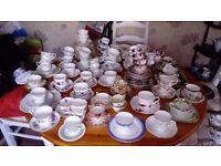 China tea set part sets and oddities