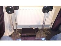 LG surround sound system with subwoofer speaker and speakers only £60