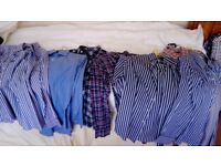 10 almost new shirts top brands Ralph lauren polo gant austin reed
