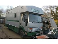 Ford Iveco Horsebox