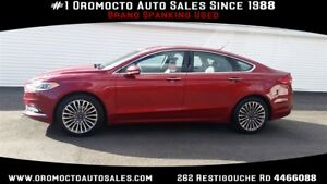 2017 Ford Fusion AWD, LUXURY PACKAGE, Heated dual powered leathe
