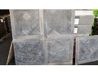x84 Packs of Stunning Texas Grey Oak Parquet Tiles