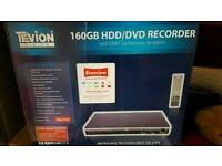 Tevion Hdd/Dvd 160gb Freeview Recorder