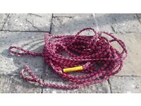 2 X WATER SKI WAKEBOARD INFLATABLE RINGO ETC TOW ROPES