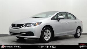 2015 Honda Civic LX bluetooth