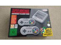 Nintendo mini SNES Classic Brand New