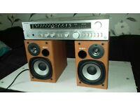 Technics Amp + Sony Speakers