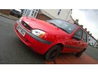 2000 Ford Fiesta RED 1.2 NEW MOT NEW KEY NEW EXHAUST CHEAP TO RUN RELIABLE