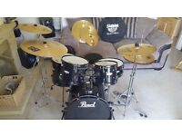 Black Pearl Forum 5 Piece Drum Kit