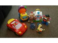Job lot of baby toys including teletubbies