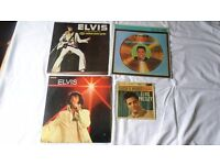 ELVIS PRESLEY 3 LPs and 1 EP