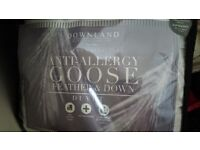 Goose feather duvet
