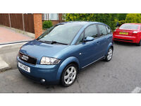 SUPERB AUDI A2 1.4 TDI, 1 YEAR MOT, FSH!!!