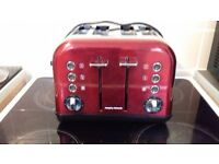 red morphy richards toaster
