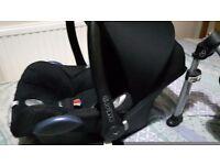 Car seat and easyfix base