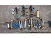 burning torches and gas gauges job lot