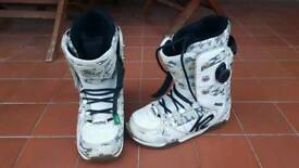 K2 Darko Snowboard Boots UK 10 - Used