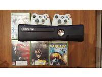 Xbox 360 250GB+Games+2 Controller