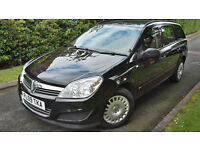 2009 VAUXHALL ASTRA 1.7CDTI ECOFLEX ESTATE,£30 POUND YEAR ROAD TAX,NEW CLUTCH&DUAL MASS FLYWHEEL