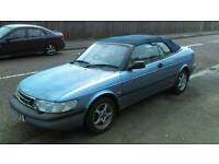 Saab 900 2.3 convirtable short mot