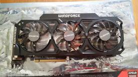 Gigabyte R9 290x Windforce 3x 4GB Graphics Card