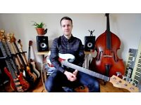 Bass Guitar Lessons in South London - all ages and abilities!