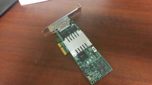 HP NC364T Quad Port PCIe Gigabit Ethernet Network Adapter