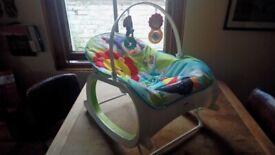 Fisher Price FMN39. INFANT TO TODDLER ROCKER