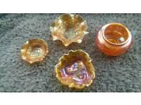 Rare Collectable Carnival Glass £100 (Ystalyfera)