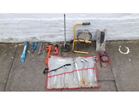 Tools Plumbing tools, handy man tools for sale!! £450