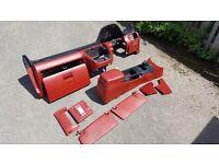 Rare JDM Half Red Interior 5th Gen Honda Prelude VTEC H22