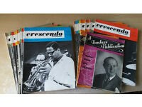 Collection of '60s and '40s Jazz Music Magazines Crescendo
