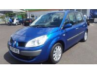 RENAULT SCENIC 1.6 AUTOMATIC IN CLEAN CONDITION. LONG MOT. FULL SERVICE HISTORY. 2 KEYS. 2 OWNERS