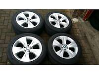 BMW X5 19 INCH ALLOY WHEELS 5X120 E60 E61 X3 3 5 7 SERIES E46 T5 STAGGERED E53 VIVARO