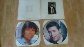 cliff richard 2 x picture disc vinyl LP's