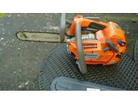Husqvarna T540XP top handle chainsaw. Immaculate condition.