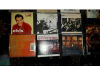 Collection of cds and dvds top artists