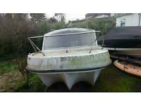 19 foot cabin cruiser