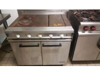 Commercial electric oven & hobs