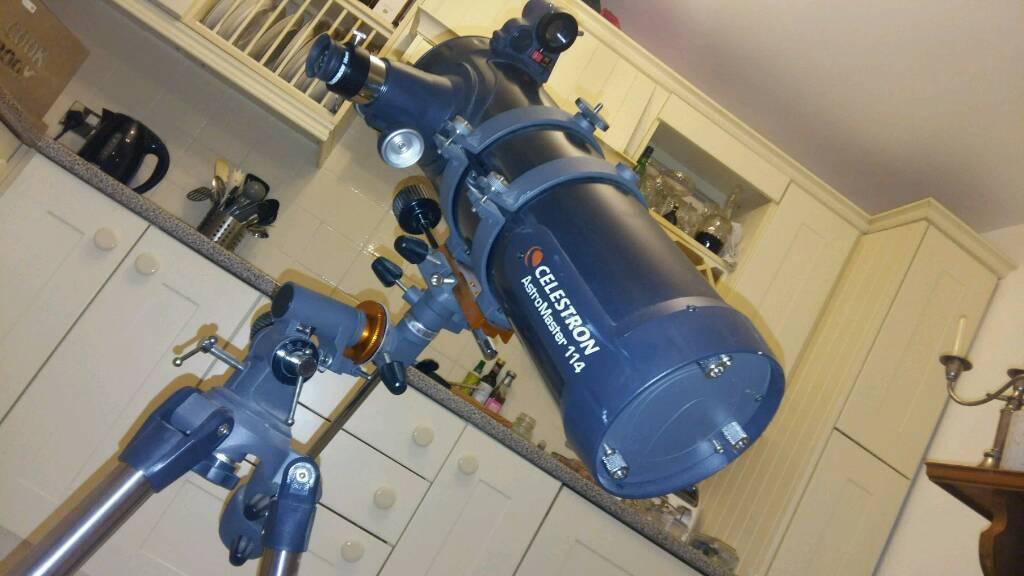 Celestron astromaster eq telescope w motor binocularsi