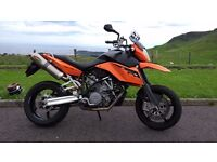 2008 KTM 990 SM immaculate condition only 6600 miles