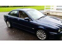 Jaguar x type 2 ltr diesel excellent condition low mileage stunning example FSH