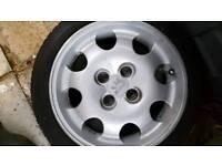Peugeot 205 1.9 GTI Alloys & Tyres Alloy Wheels