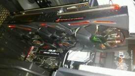 nvidia gtx 1070ti asus strix ROG 8GB